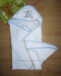 Банное полотенце с уголком