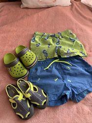 Продам детские пляжные шорты