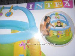 Intex Манеж детский надувной, круглый