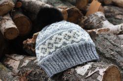 Женская жаккардовая шапка Norway