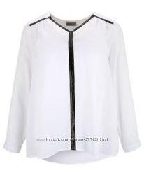 Блуза Janina пролет с кик. де размер 46 наш примерно 56-58