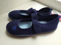 Текстильные туфли George 21, 5 см