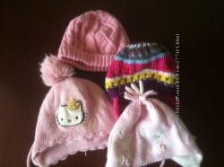 Фирменные шапки в идеальном состоянии до года