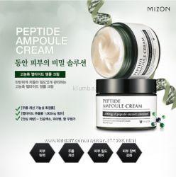 MIZON Peptide Ampoule Cream Пептидный крем для лица