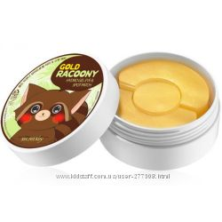 Гидрогелевые патчи Secret Key Gold Racoony Hydrogel Eye & Spot