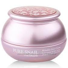 Омолаживающий крем с улиткой Bergamo Pure Snail Wrinkle Care Cream