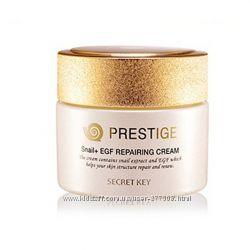 Восстанавливающий крем с улиточным экстрактом  EGF - SECRET KEY Prestige S