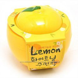 Отбеливающая ночная маска Baviphat Lemon Whitening Sleeping Pack