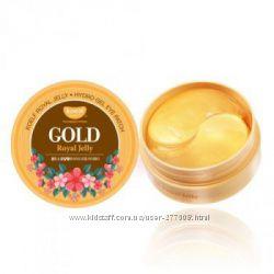 Антивозрастные гидрогелевые патчи KOELF Gold & Royal Jelly Eye Patch