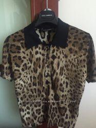 Леопардовая блуза от  Dolce and Gabbana. Оригинал.