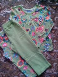 Фирменная пижамка с двумя штанишками