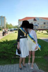 Выпускное платье , размер с, в подарок болеро