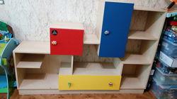 Мебель в детскую комнату стеллаж для игрушек