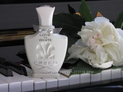 Распив Creed Love in White, Aventus for Her, Silver Mountain Water