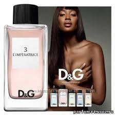 Потрясающий аромат Dolce & Gabbana 3 LImperatrice