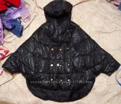 Женская куртка-пончо, синтепон