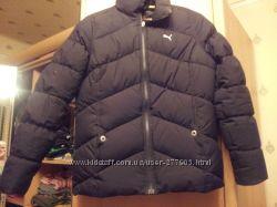 куртка пуховик пума . размер м.