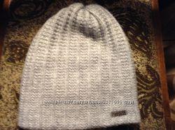Серая шапка шерстянная Lucky LOOK