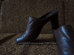 кожаные сабо из италии цена снижена