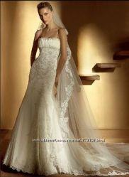Красивое свадебное платье. Возможен прокат