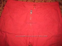 Капри H&M белые и красные