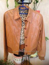 натур. кожаная куртка Leonardo