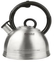 Наплитные чайники Rondell со свистком