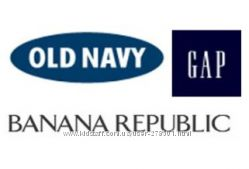 Gap - 40, Gap Factory-25, Old Navy-40, Bananarepublic
