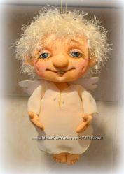 Ангел. Авторская  кукла. 30см.