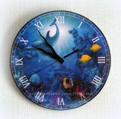 Часы ручной работы. Декупаж.