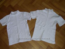 Блузочки, кофточки белые школьные