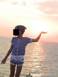 Костюм морской, вещи, костюмы на девочку 6 лет и старше