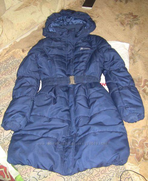 Зимнее теплое пальто на девочку 152р Outventure