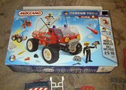 Конструктор Meccano Rescue Team К-тор пожарный грузовик 3 модели