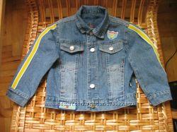 Джинсовая курточка 104р