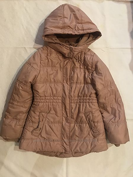 Зимняя куртка для девочки CoolClub, 122р