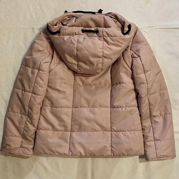 Куртка-жилетка для девочки, 116-122р