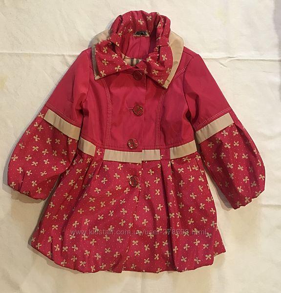 Легкое детское пальто