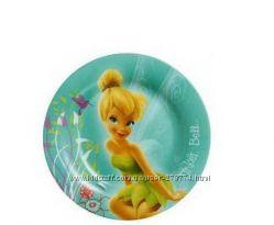 Тарелка десертная круглая 19см Luminarc Disney Fairies Butterfly
