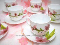 Сервиз чайный 12 пр Luminarc Water Color E4904