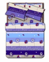 Комплект постельного белья ЕВРО Home Line KF12329-5