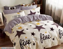 Комплект постельного белья ЕВРО Сатин Home Line Файн