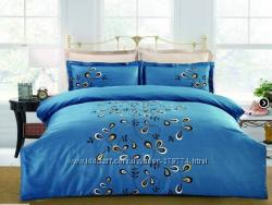 Комплект постельного белья ЕВРО Сатин Home Line Вуаль
