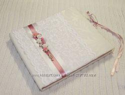 Свадебная книга пожеланий, ручная работа