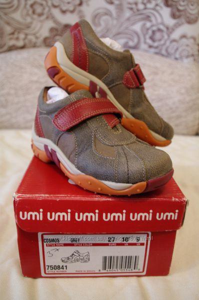 Фирменные кожаные ботинки Umi 27 р-р.