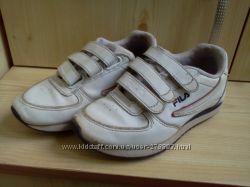 Кроссовки кожаные FILA 18. 5 cм