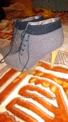 Ботинки Ботильоны