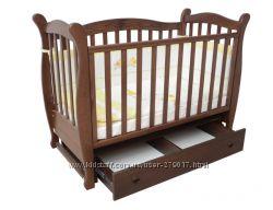 Кроватка Верес Соня ЛД15 с маятником. Хит продаж. Бесплатная доставка.