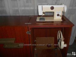 швейная машинка чайка 124 М с тумбой