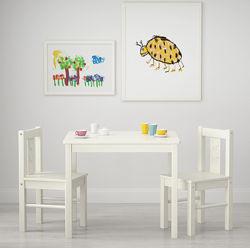 Столик и два стула Икеа Криттер